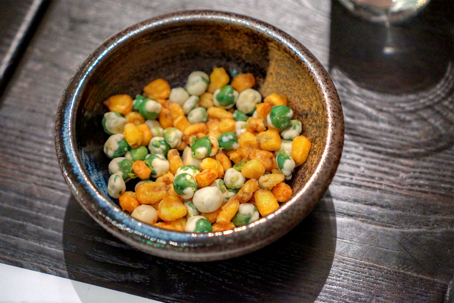 Wasabi Peas & Corn Nuts