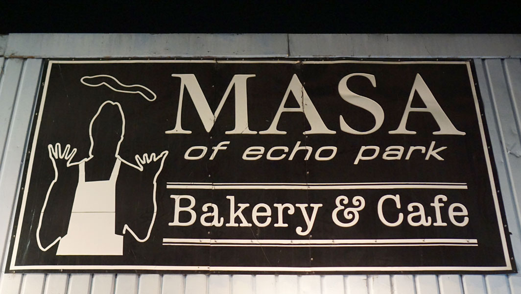 Masa of Echo Park Sign