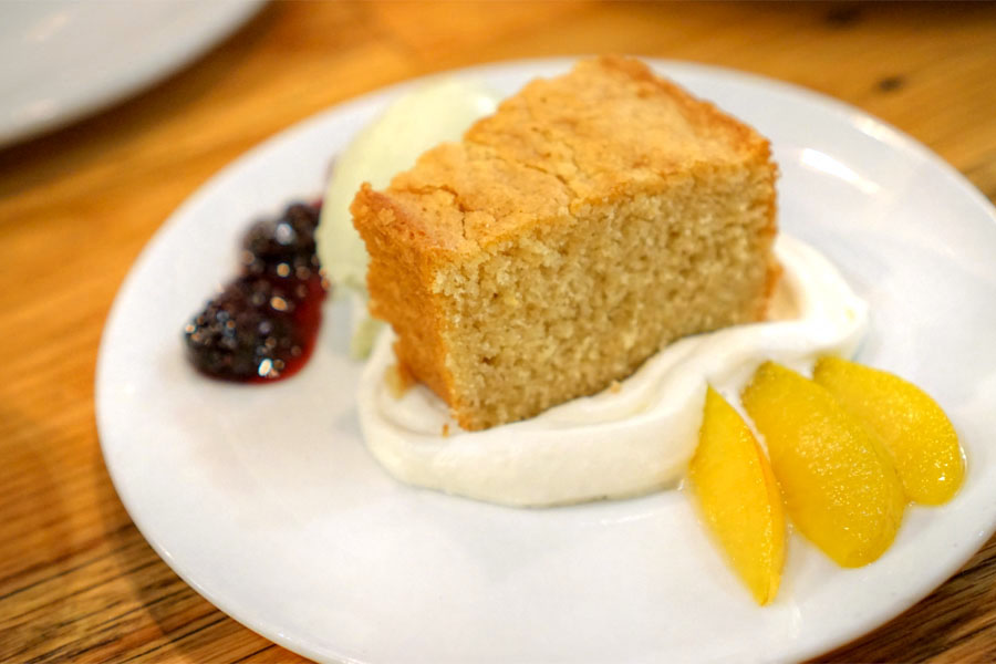 Buttermilk Einkorn Cake