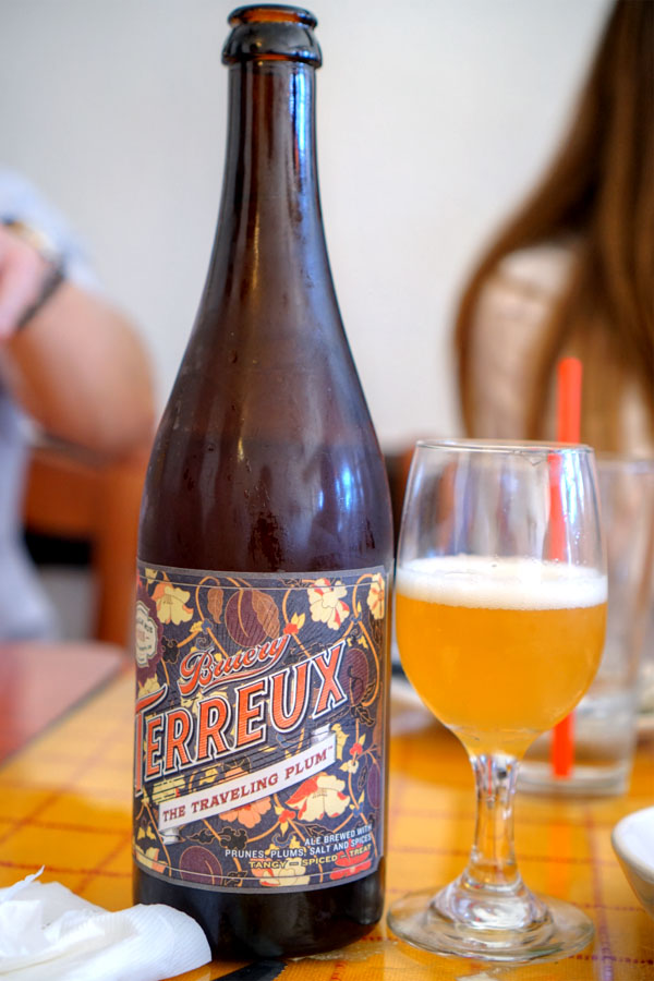 2016 Bruery Terreux The Traveling Plum