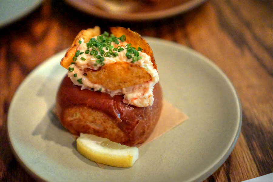 Lobster Roll, Celery, Lemon Aioli