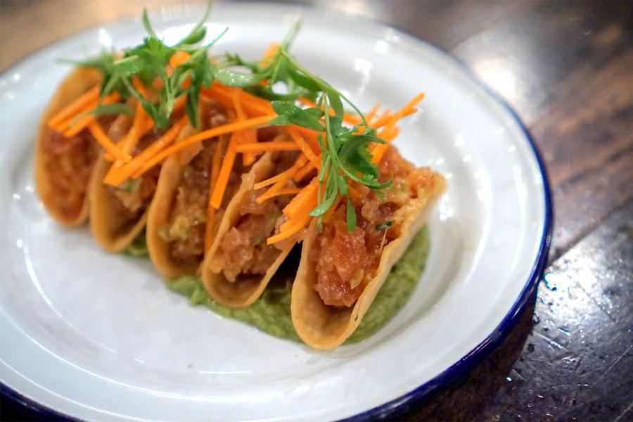 Crispy Ahi Tacos