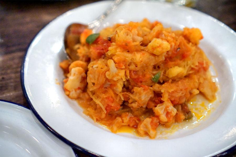 Spaghetti Squash Puttanesca