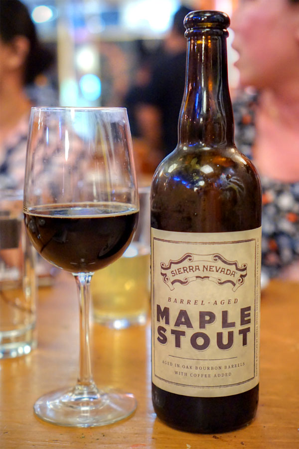 2014 Sierra Nevada Barrel-Aged Maple Stout