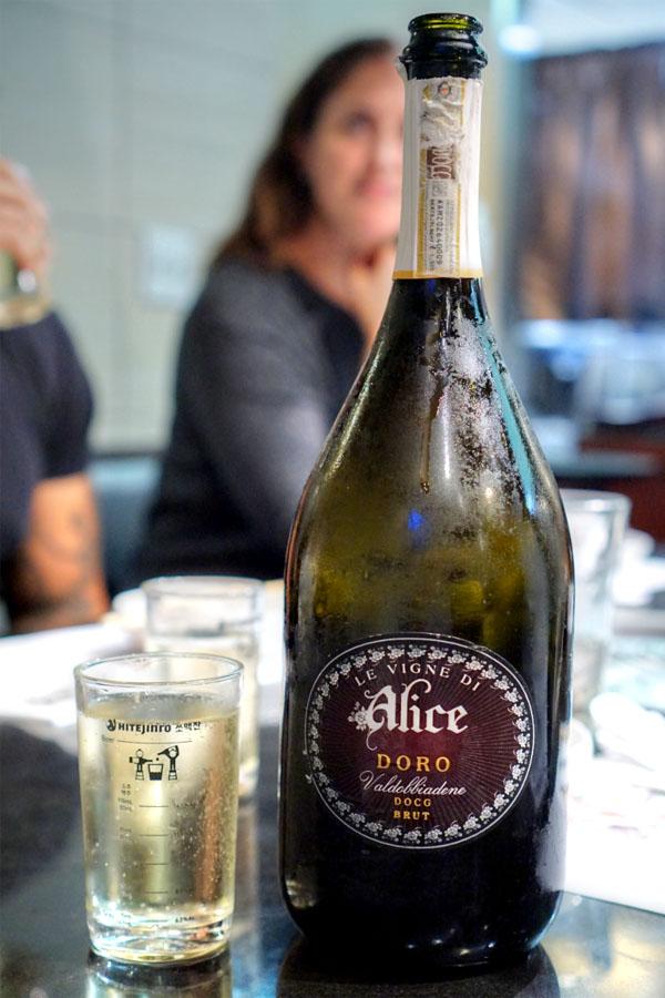 2014 Le Vigne di Alice Prosecco di Valdobbiadene Doro