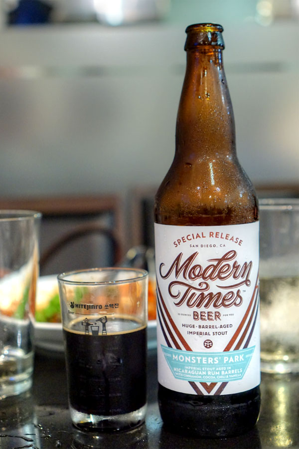 2016 Modern Times Monsters' Park Aged in Nicaraguan Rum Barrels - Mexican Hot Chocolate Edition
