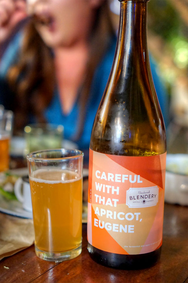 2016 Beachwood Blendery Careful With That Apricot, Eugene