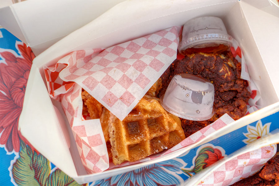 Hot Chicken & Waffles (X-Hot)