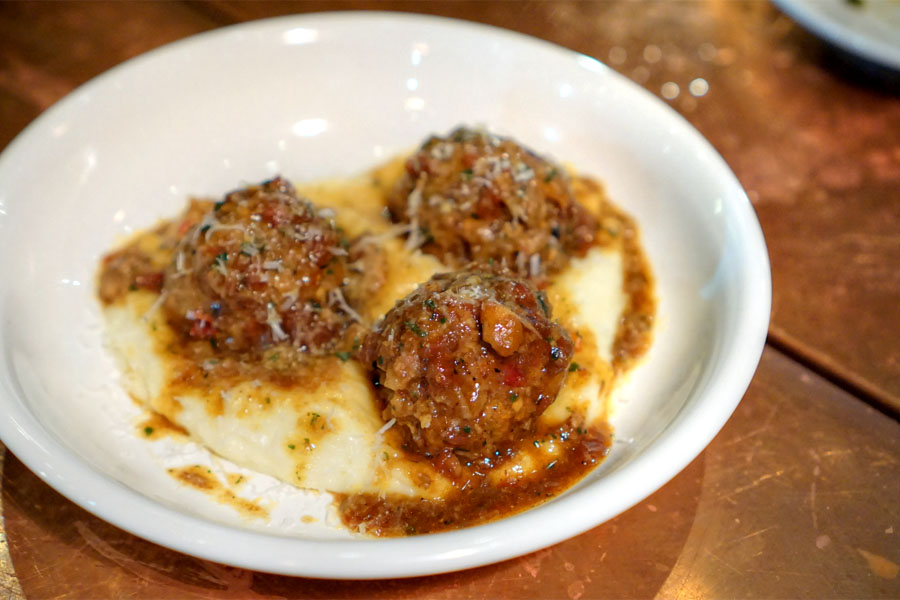 Braised Meatballs