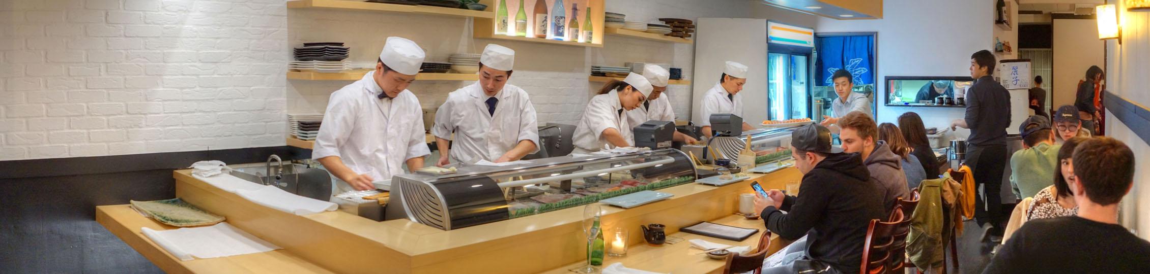 Sushi Enya Interior