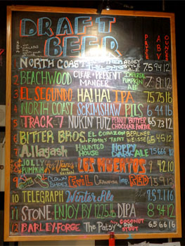 Public Beer Wine Shop Tap List