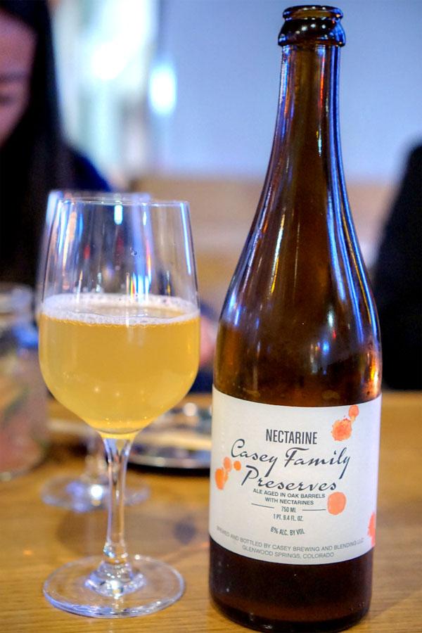 2015 Casey Family Preserves: Nectarine