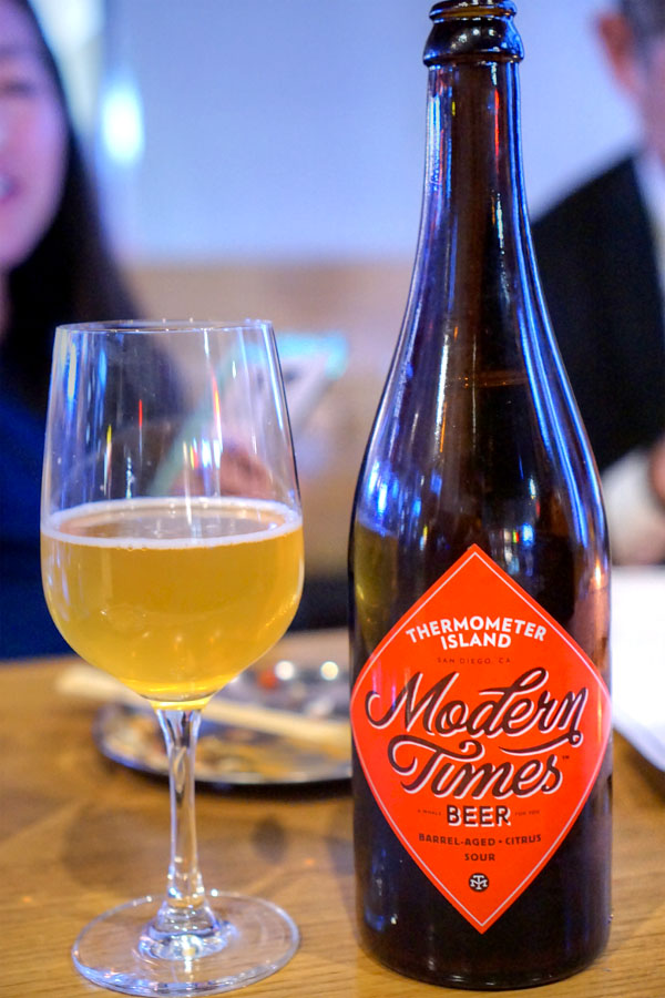 2016 Modern Times Thermometer Island
