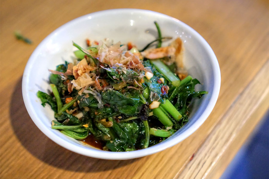 Wok Fried Greens