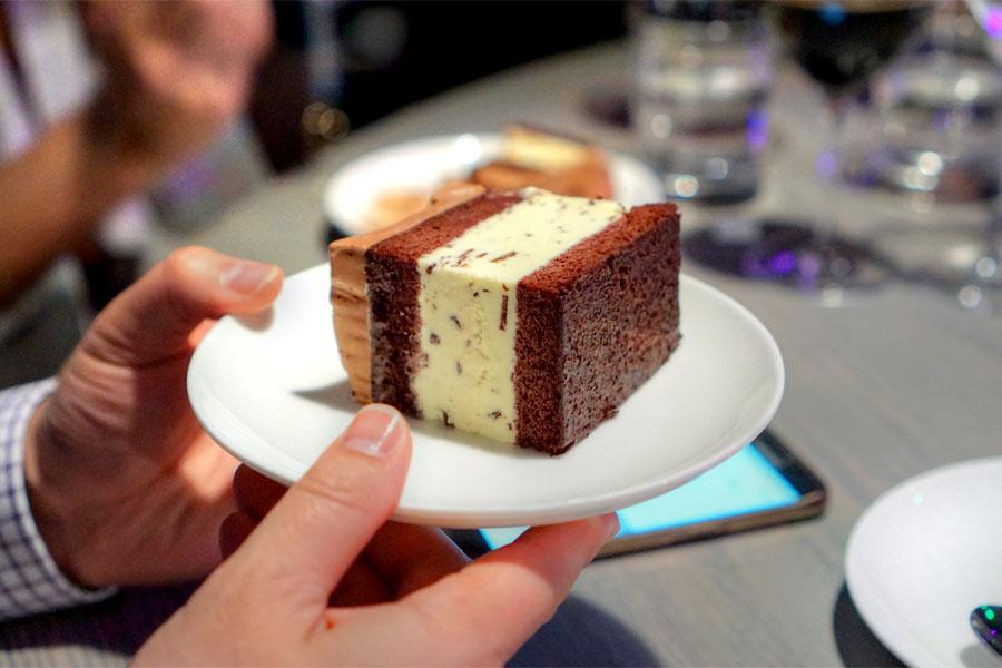 Sweet Rose Creamery Fresh Mint Chocolate Cake