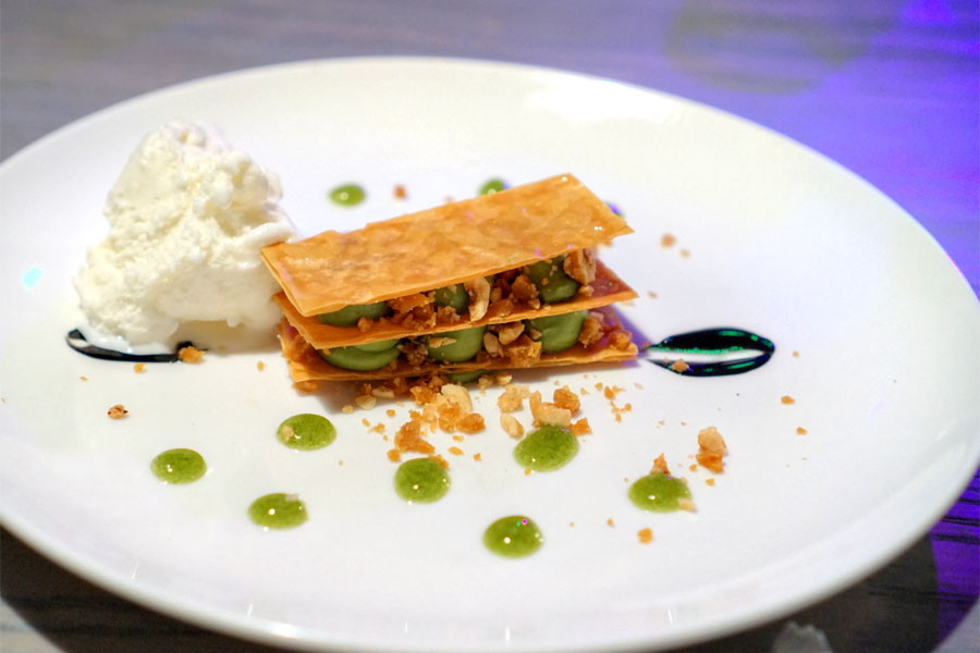 Matcha Mille Feuille