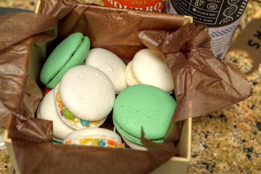 CC's Macarons Christmas Box