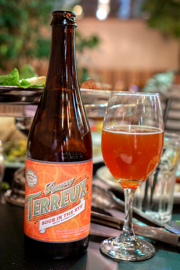 2016 Bruery Terreux Sour in the Rye with Kumquats