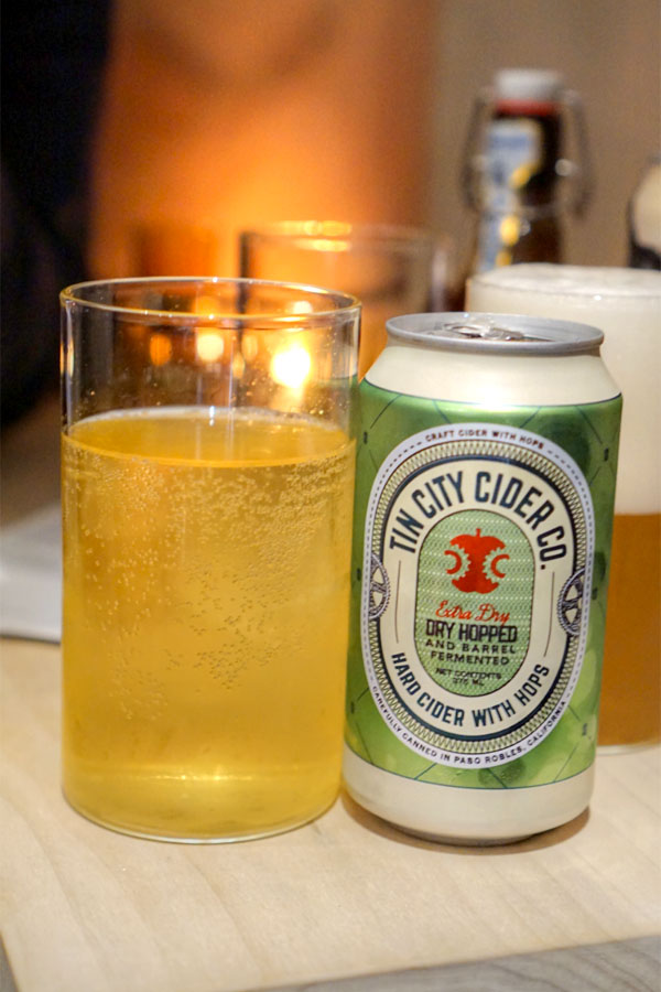 tin city original cider paso robles