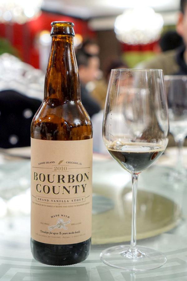 2010 Goose Island Bourbon County Brand Vanilla Stout