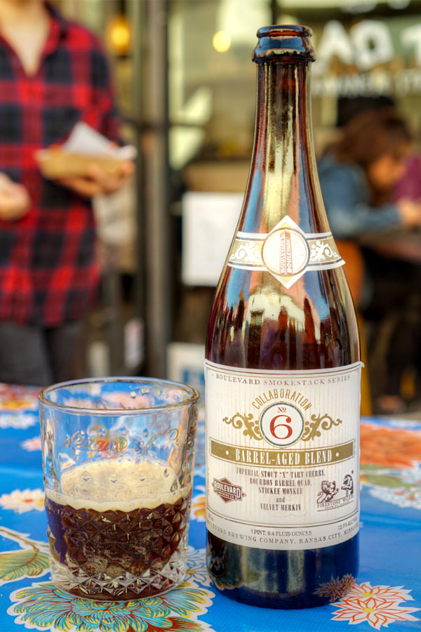 2016 Boulevard Collaboration No. 6 - Barrel-Aged Blend