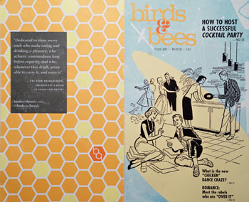 Birds & Bees Menu Cover