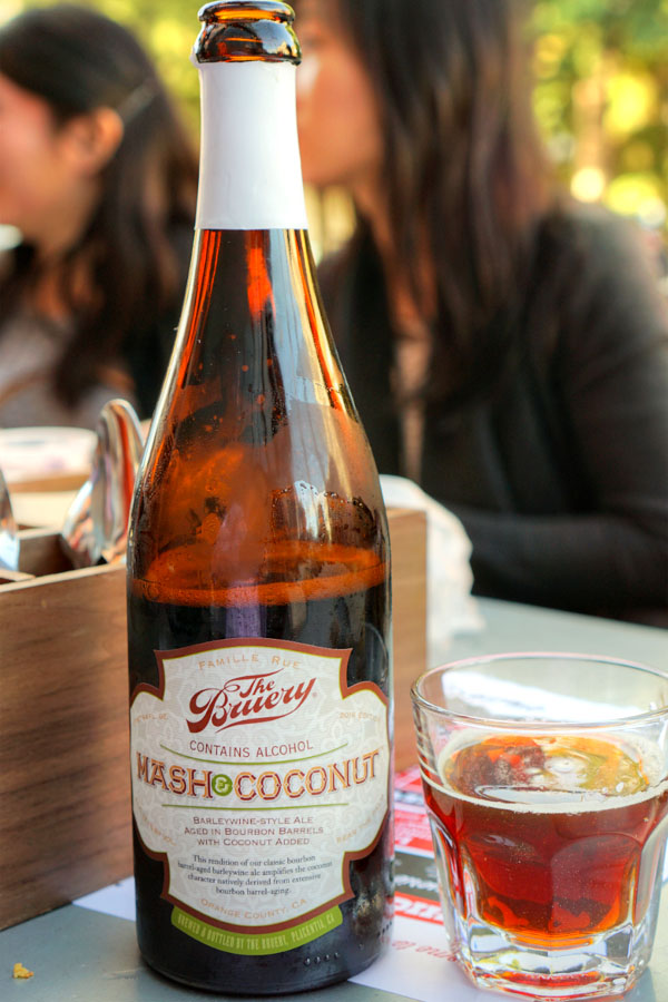 2016 The Bruery Mash & Coconut