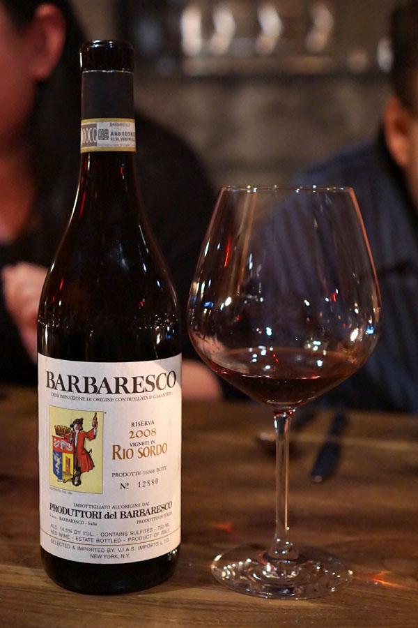 2008 Produttori del Barbaresco Barbaresco Riserva Rio Sordo