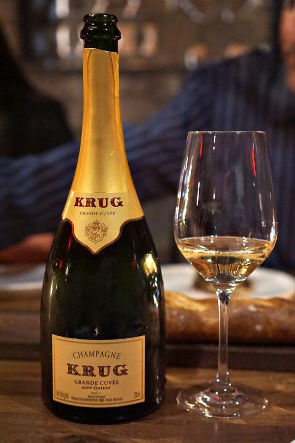 NV Krug Champagne Brut Grande Cuvée 163eme Édition