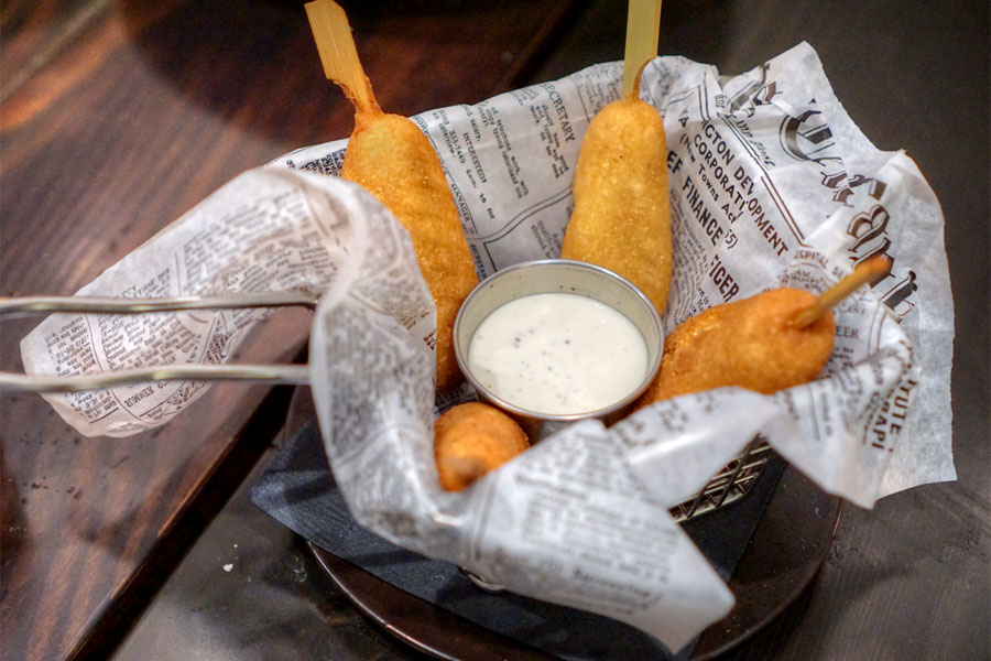 Lobster Corn Dogs
