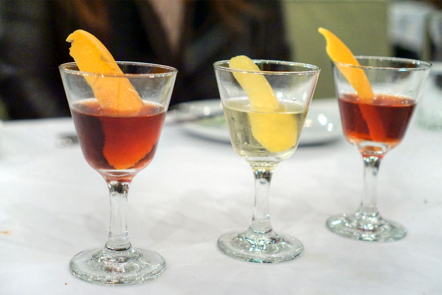 Flight of All Three Negronis
