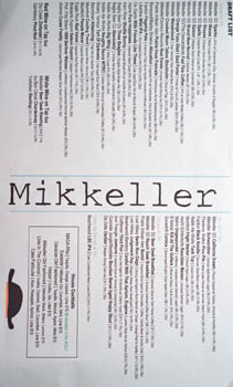 Mikkeller Bar Beer & Cocktail List