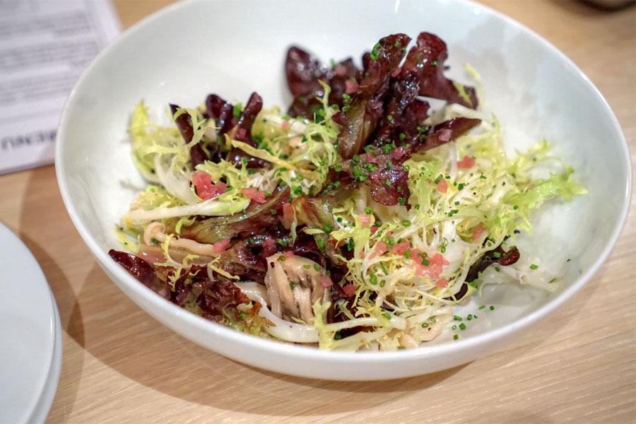 Frisee & Wild Mushroom Salad