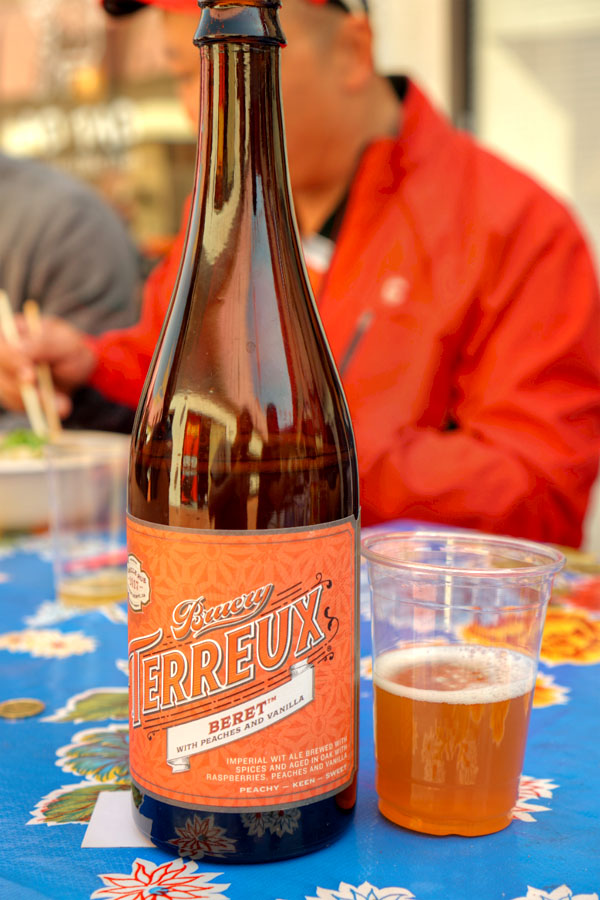 2017 Bruery Terreux Beret with Peaches and Vanilla