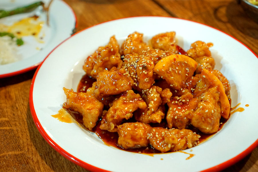 Mary's Orange Chicken