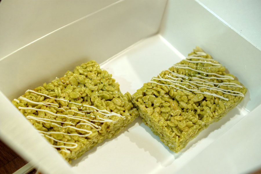 Matcha Matcha Rice Krispies Treats