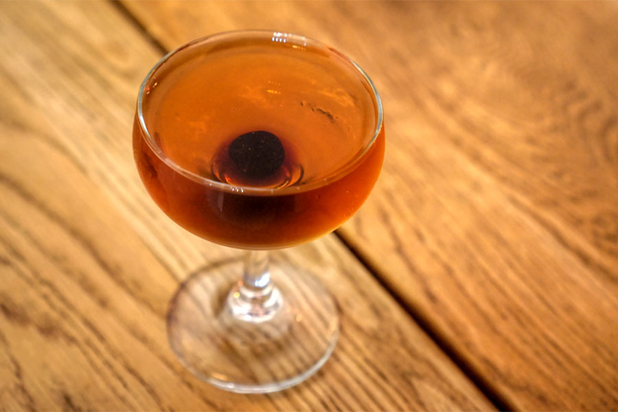 Barkeep's Inspiration - Rye Whiskey