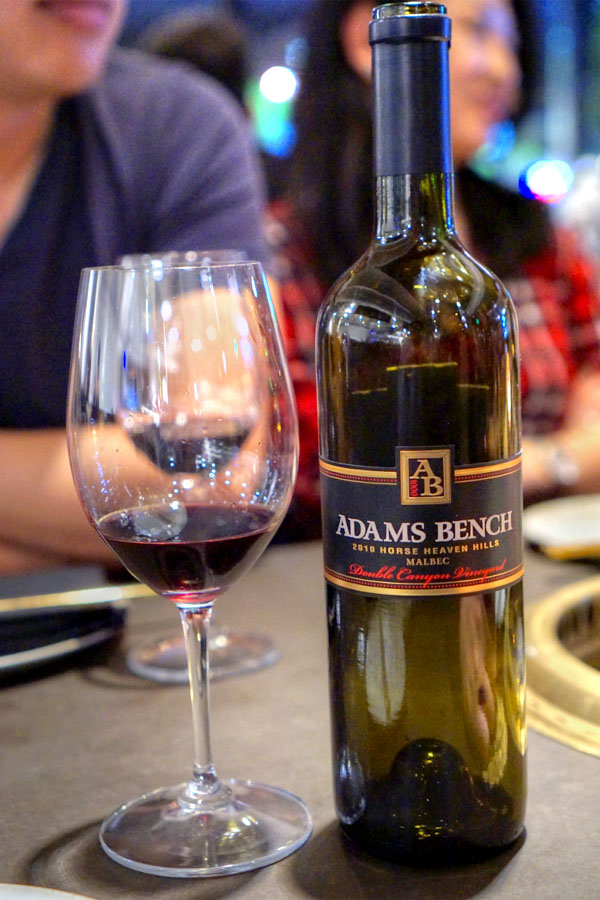 2010 Adams Bench Malbec Double Canyon Vineyard