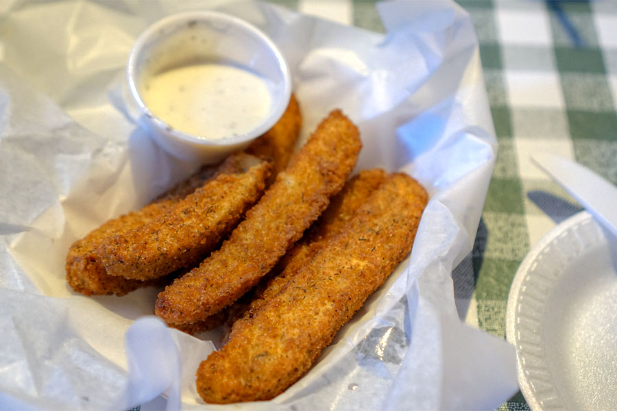 Fried Pickles w/Ranch