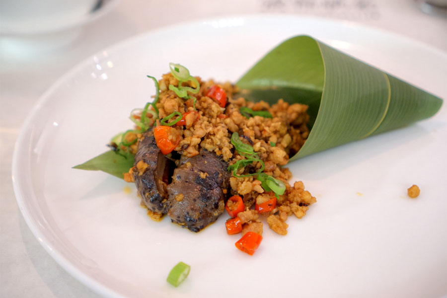 Sea Cucumber with House Sauce