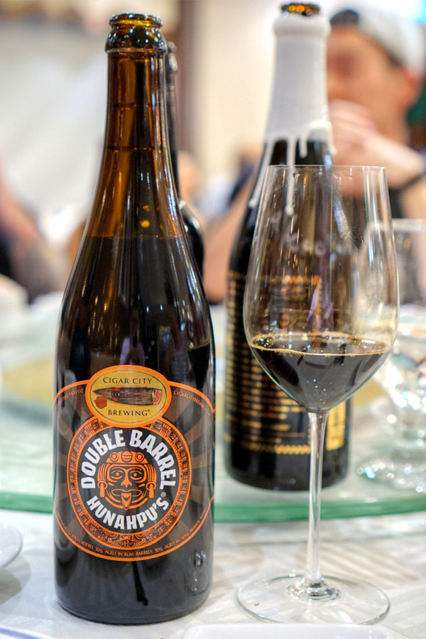 2016 Cigar City Double Barrel Hunahpu's