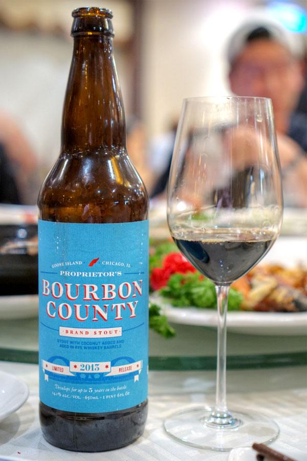 2013 Goose Island Proprietor's Bourbon County Brand Stout