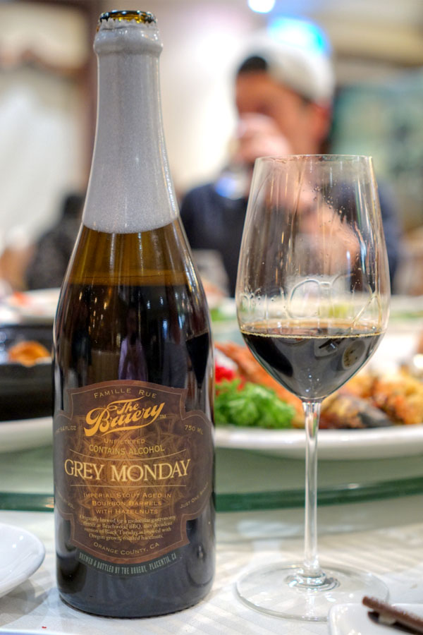 2012 The Bruery Grey Monday