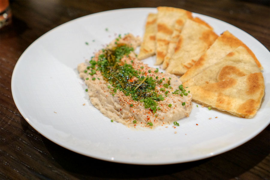 Truffled White Bean Hummus