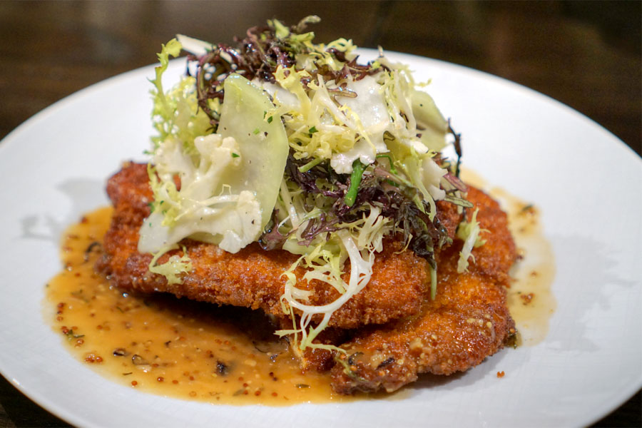 Pan Fried Mary's Chicken Schnitzel