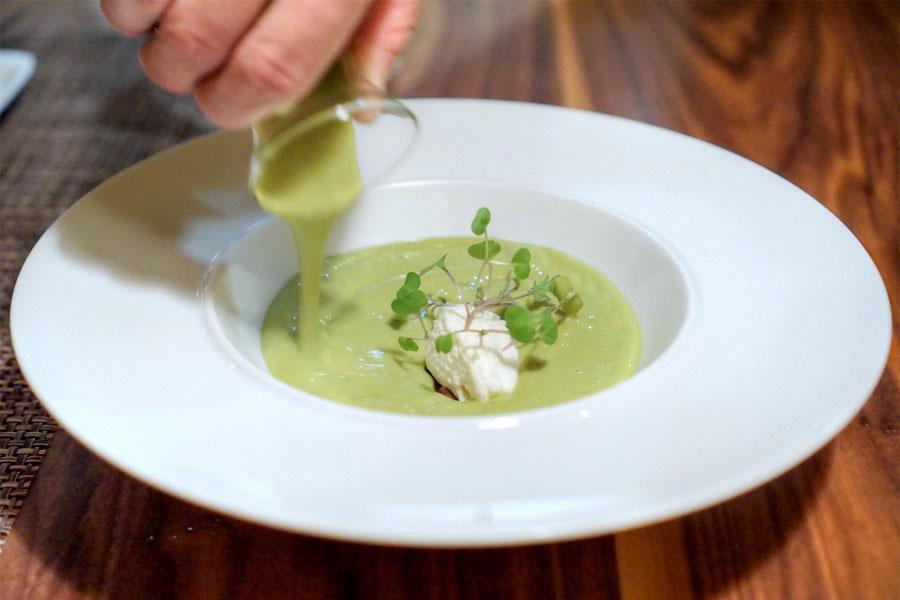 Spring Garlic Soup