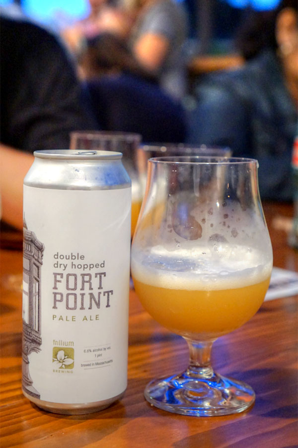 2017 Trillium Double Dry Hopped Fort Point