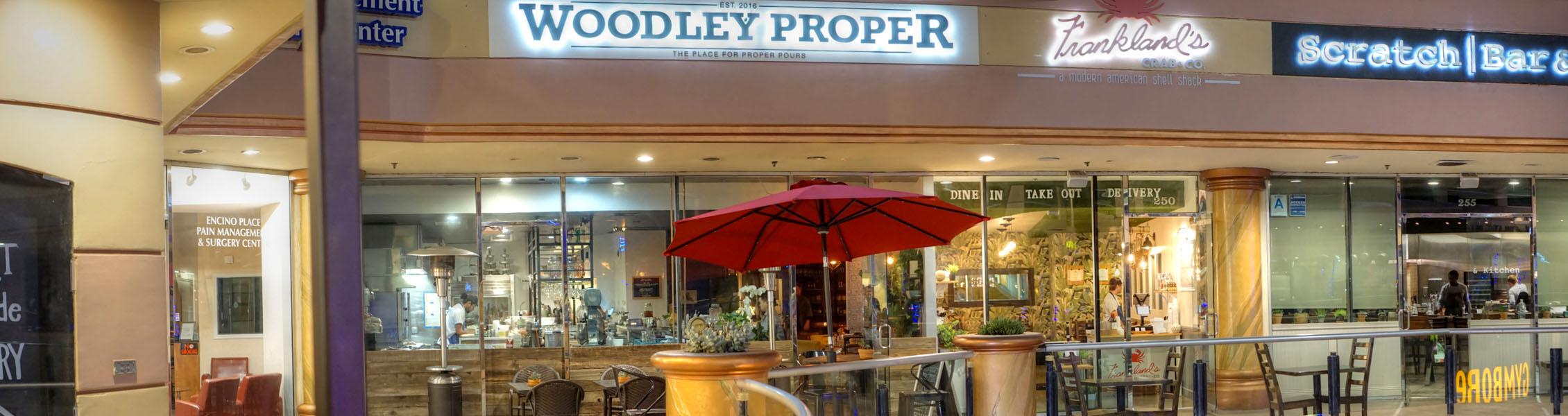 Woodley Proper Exterior