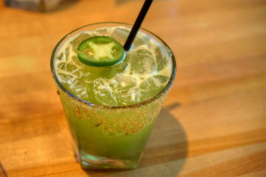 Spicy Cucumber Margarita