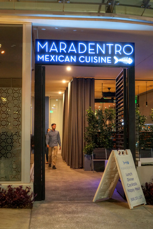 Maradentro Entrance